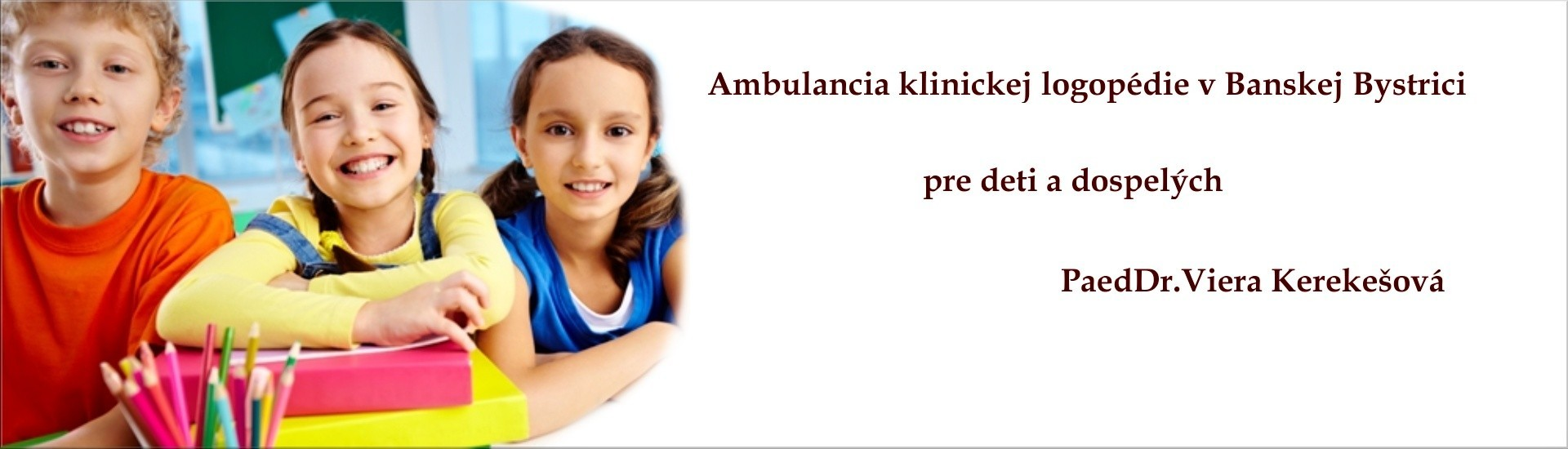 logopedická ambulancia bb